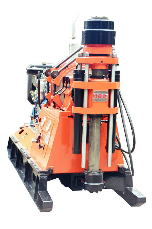 XY-4-3A Engineering Drill Rig Reverse Circulation , Skid Mounted Drilling Rig