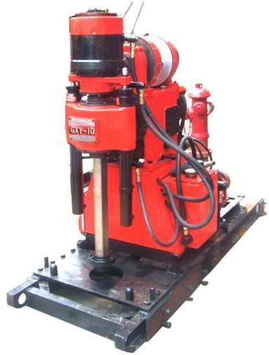 GXY-1D Mining Exploration Drilling Rig Skid Mounted,Blast Hole Drilling