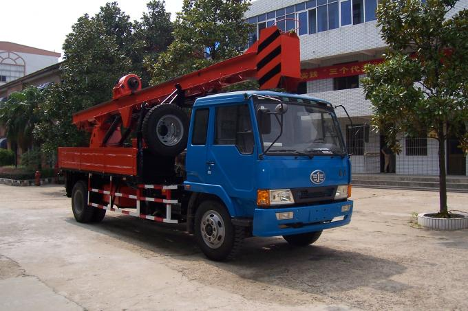 G-3 High Mobility Truck Mounted Drilling Rig Hydraulic Chuck For Highway
