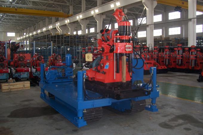 GXYL-1 Exploration Drilling Rig , Crawler Drilling Machine For Engineering Prospecting
