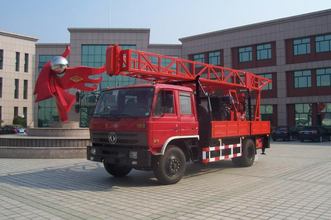DPP-30 Truck Mounted Hydraulic Portable Drilling Rigs For Water Well