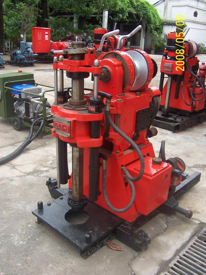 GXY-1 Portable Skid Mounted Drilling Rig For Survey Solid Mineral Deposit