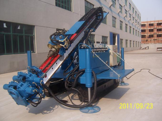 MDL-135D Great Torque Portable Drilling Rigs , Crawler Drilling Machines