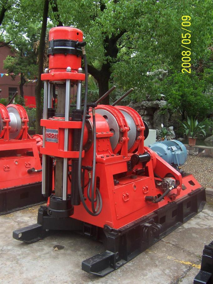 XY-4-3A Crawler Surface Drilling Rig  , Core Drilling Rigs For Engineering Survey