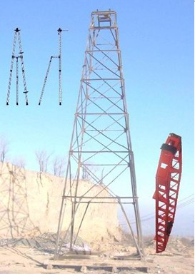 Spindle Type Core Protable Drilling Tower Rig Integrated Drilling Vertical