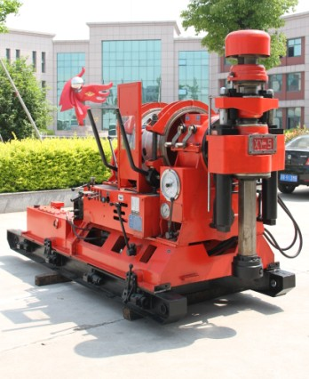 XY-5 Large Spindle I.D. 96mm Skid Mounted Drilling Rig Torque 6150N.m