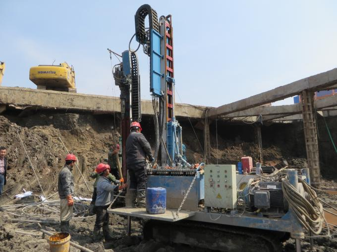 Crawler Anchor Drilling Rig Water Well Drilling