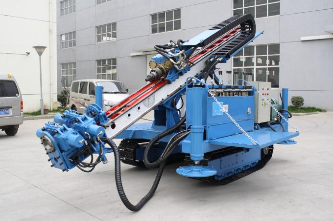 Multi Function Drilling Machine For Jet Grouting And Anchoring