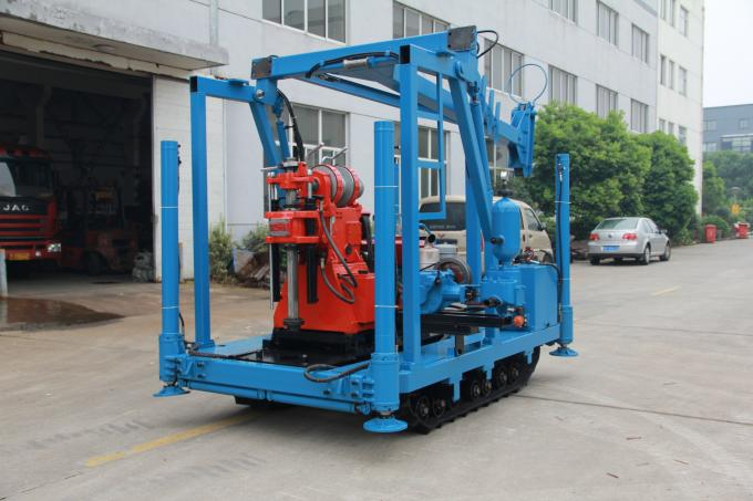 GYQ-200A Core Drilling Rig Soil Investigation Drilling Machine Spt Mining Drill Hydraulic Chuck Light Weigh