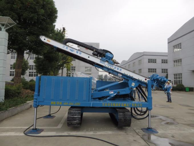 Hydraulic Multifunctional High Lifting Anchor Drilling Rig with Crawler Chassis MDL - 150H