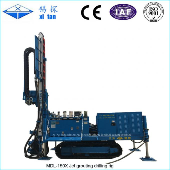 MDL-150X Jet Grouting Drilling Rig Machine using for RJP and MJS
