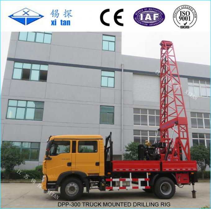 DPP-300 Truck mounted Drilling Rigs