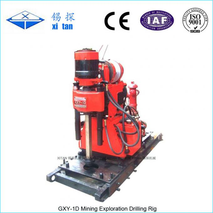 Spindle Type Core Drilling Rig with Hydraulic Chuck GXY - 1D