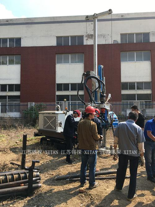 CE Water Well Drilling Rig , Durable Well Drilling Machine High Efficiency