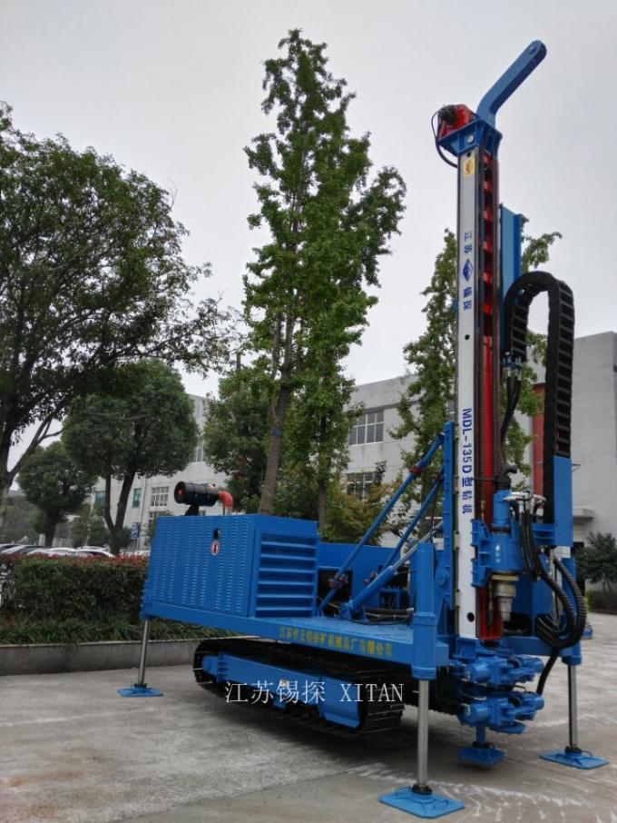 Anchor Drilling Rig Drilling Machine Hole Vertical Hole Also For Jet - Grouting Drill MDL - 135D