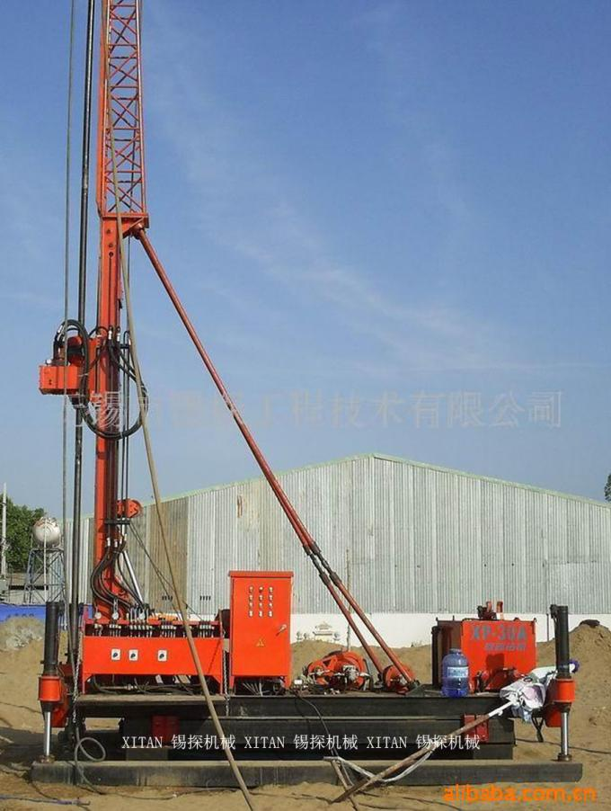 Jet Grouting Crawler Drilling Rig with Torque 3000N . m XP - 30A