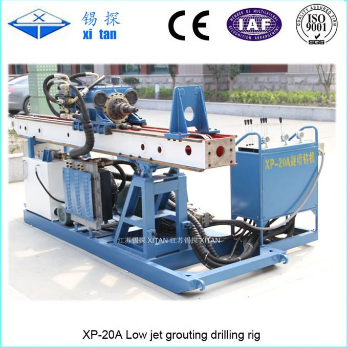 Low Jet-grouting drilling rig with depth 30-50m XP - 20A