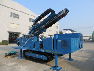 China Big Torque Rotary Drilling Rig , High Rotary Speed Ground Drilling Machine Crawler Mounted MDL - C160 supplier