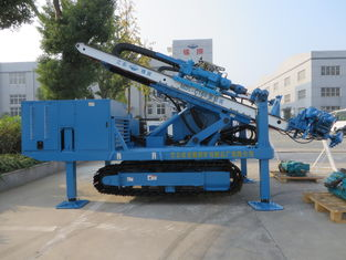 China MDL-C160 High Impact Frequency Anchor Drilling Rig Hydraulic System High Power Virbration Foundation supplier