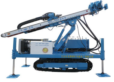 China Rotary System Drilling Rig Construction , Hydraulic Crawler Drilling Machine MDL - 150H supplier