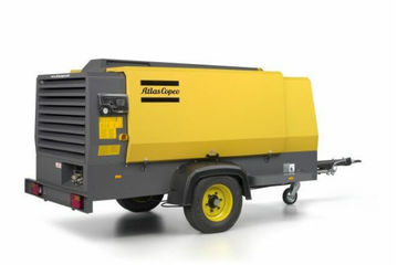 12 bar 10 m³ / Min Capacity Portable Air Compressor Atlas Copco XAHS166C Cummins diesel Optimal size