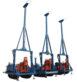 China GYQ-200A Core Drilling Rig Soil Investigation Drilling Machine Spt Mining Drill Hydraulic Chuck Light Weigh supplier