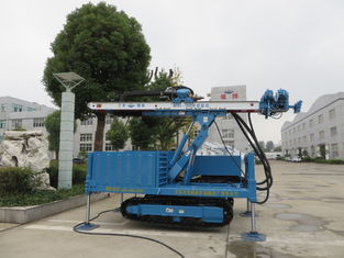 Anchor Drilling Rig Foundation Piling Machine DTH hammer MDL - 150H