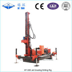 Full Hydraulic Power Head Jet Grouting Drilling Rig with High Tower 20m XP - 30B