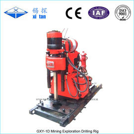 China Spindle Type Core Drilling Rig with Hydraulic Chuck GXY - 1D supplier