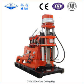 China Compact and Small Core Drilling Rig with Big Torque GYQ - 200A supplier