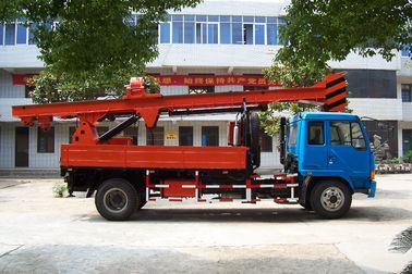 China G-3 Powerful Truck Mounted Drilling Rig Mechanical Driven For Bridge , Dam supplier