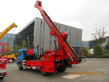 China G-3 High Mobility Truck Mounted Drilling Rig Hydraulic Chuck For Highway supplier
