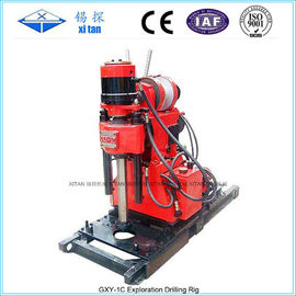 Small and Compact Core Drilling Rig With Hydraulic Chuck GXY - 1C