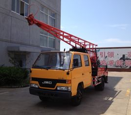 China GC-150 Hydraulic Chuck Truck Mounted Drilling Rig For Geological Exploration supplier