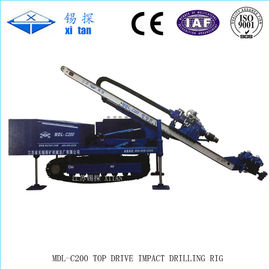 Full Hydraulic High Rotary Speed Anchor Drilling Machine 14000N . M Torque MDL - C200