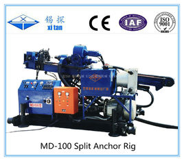 China Mining Exploration Skid Mounted Anchor Drilling Rig MD - 100A supplier