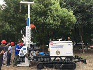 ISO Enviroment Protecting Anchor Drilling Rig , Deep Well Drilling Machine