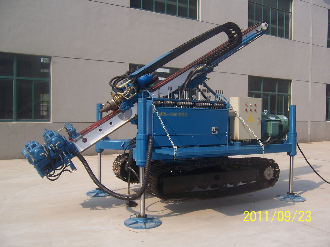 Air Anchor Drilling Rig Full Hydraulic Water Drilling