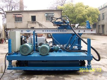 Anchor Drilling Crawler Drilling Rig 3 . 5 m Mast Long Stroke XPL - 20A