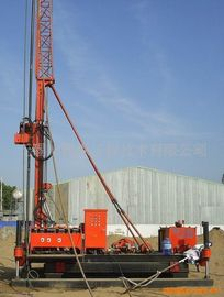 Crawler Drilling Skid Mounted Drilling Rig Jet Grouting Skid Mounted For Geological Drill XP - 30B