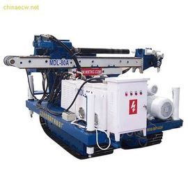 China MD-80 High Efficiency Full Hydraulic Skid Mounted Drilling Rig Depth 50 - 60 m factory