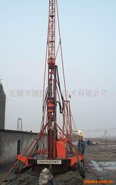 China Jet - grouting drilling Crawler drilling rig Double winch and high drill tower  XPL - 30A factory