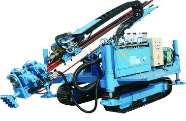 China Crawler Mounted Anchor Drilling Rig Drilling Machine MDL - 150D factory