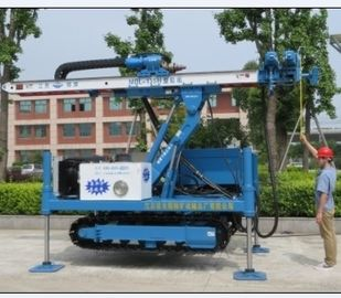 China Anchor Drilling Rig Foundation Piling Machine with DTH hammer MDL - 135H factory