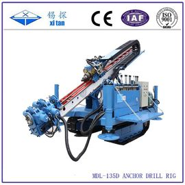 China Great torque crawler drilling rig for anchoring or jet - grouting MDL - 135D factory