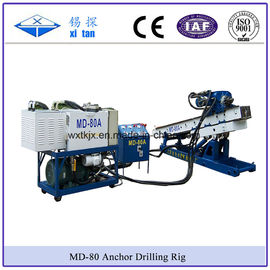 China Small Size Anchor Drilling Mining Exploration Drilling DTH Hammer Drill Water Well Drill Micropile Drill MD - 80A factory