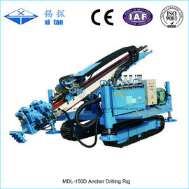 China Crawler Mounted Anchor Drilling Rig MDL - 150D factory