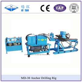 China Slope Anchor Drilling Rig with Torque 1600N . m MD - 30 factory