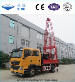 China Truck Mounted  Drilling Rig with Hole Depth 150m - 600m DPP - 300 distributor