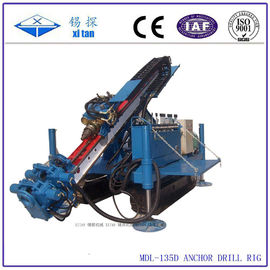 China Full Hydraulic Power Head Crawler Anchor Drilling Machines MDL - 135D distributor